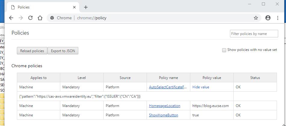 Windows 10 – True SSO using Chrome – EUCSE Blog