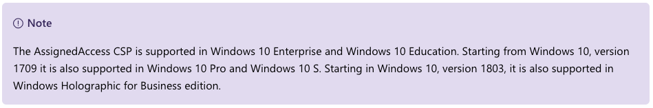 Windows 10 – Kiosk Mode – EUCSE Blog