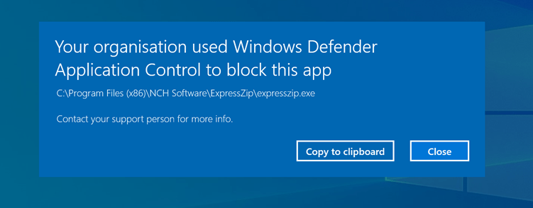 Microsoft Defender Application Control